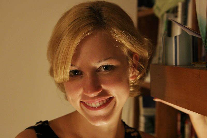 Portrait of the beautiful Aprille Clarke.