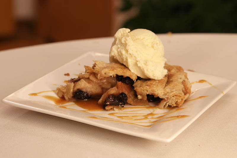 Picture of apple pie.